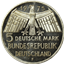 1975-1979 German 5 Deutsche Mark Silver Coin (0.225 oz of Silver)