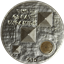 2013 British Virgin Islands 1 oz Proof Silver High Relief Great Pyramid - W/ Box & COA