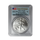 2012-W 1 oz Silver American Eagle PCGS MS69 First Strike | Struck At West Point Mint