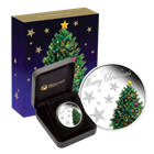 2013 Australia 1/2 oz Proof Silver Merry Christmas (W/ Box & COA)