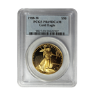1988-W $50 Proof Gold American Eagle PCGS PR69