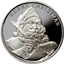 2013 Merry Christmas Santa Claus - 1 oz Silver Round (.999 Pure)