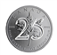 2013 1 oz Canadian 25th Anniversary Silver Maple Leaf