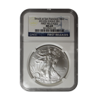 2012 Silver American Eagle - Struck At San Francsico Mint NGC MS69 Early Release