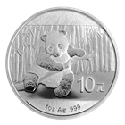 2014 1 oz Chinese Silver Panda (In Capsule)