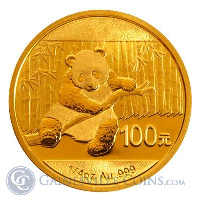 2014 1/4 oz Chinese Gold Panda