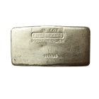 50 ounce Engelhard Silver Bar - Poured (.999 Fine)