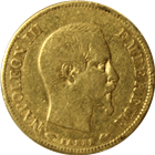 1857-A France 10 Franc Gold Coin (.0933 oz AGW)