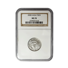 2008 1/4 oz $25 Platinum American Eagle NGC MS70