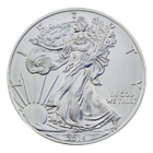 2014 1 oz American Silver Eagle - Brilliant Uncirculated Condition