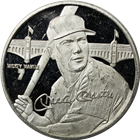 Mickey Mantle 1.5 oz Proof Silver Round - Limited Edition (.999 Pure)