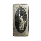 Statue Of Liberty 1 oz Silver Art Bar - Patrick Mint (.999 Pure)