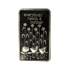 1974 Mothers Day 1 oz Silver Art Bar - Mount Everest Mint (.999 Pure)