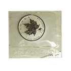 2004 1 oz Canadian Silver Maple Leaf - Capricorn Privy Mark (Sealed In Mint Plastic)