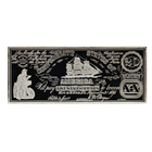 8 oz $20 Proof Silver Bar - Confederate States Of America (.999 Pure)