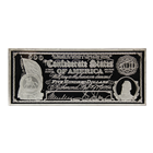 8 oz $500 Proof Silver Bar - Confederate States Of America (.999 Pure)