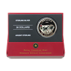 2006 Canada $30 Dog Sled Team Proof Sterling Silver (.9368 oz ASW) With Box and COA