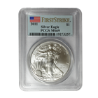 2011 American Silver Eagle PCGS MS69 First Strike