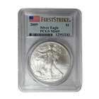 2009 American Silver Eagle PCGS MS69 First Strike
