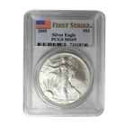 2005 American Silver Eagle PCGS MS69 First Strike