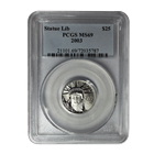 2003 $25 American Platinum Eagle PCGS MS69