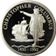 Christopher Columbus 1 oz Proof Silver Medallion