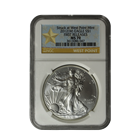 2012 American Silver Eagle NGC MS70 First Release - West Point Mint