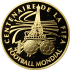 2004 France 10 Euro Proof Gold Soccer Ball (.2499 oz Gold)