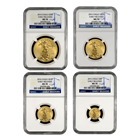 2014 American Gold Eagle 4-Coin Set NGC MS70 Early Release