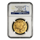 2014 American Gold Buffalo NGC MS70 Early Release