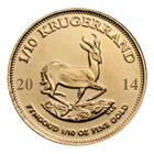 2014 1/10 oz South African Gold Krugerrand