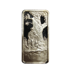 1974 Fathers Day 1 oz Silver Bar - Under The Oak Tree (Hamilton Mint) .999 Pure