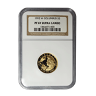 1992-W Columbus $5 Proof Gold Commemorative NGC PF69