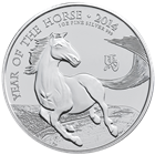 2014 British Royal Mint 1 oz Silver Lunar Horse - 1st in Series!