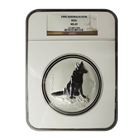 2006 Australia 1 Kilo Silver Lunar Dog NGC MS69 - Only 6 Graded MS69!