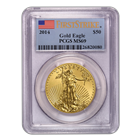 2014 $50 American Gold Eagle PCGS MS69 First Strike