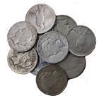 Peace Silver Dollar Cull Common Date