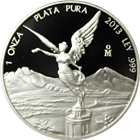 2013 Mexico 1 oz Proof Silver Libertad