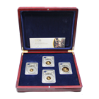 2006 United Kingdom 4-Coin Proof Gold British Sovereign Set PCGS PR69