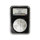 2003 1 oz American Silver Eagle NGC MS69 (Retro Holder)