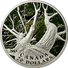 2013 Canada 1 oz Proof Silver Maple Canopy Spring - With Box and COA