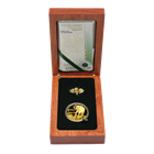 2008 South African Natura 1 oz Proof Gold Elephant - With Box and COA