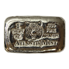 1 oz Tiger Silver Bar - Atlantis Mint (.999 Pure)