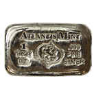 1 oz Pisces Zodiac Silver Bar - Atlantis Mint (.999 Pure)