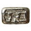 1 oz Aquarius Zodiac Poured Silver Bar - Atlantis Mint (.999 Pure)