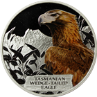 2012 Tasmanian Wedge Tailed Eagle 1 oz Proof Silver Coin - Tuvalu (With Box and COA)