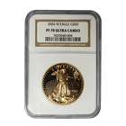 2002-W $50 Proof Gold American Eagle NGC PF70