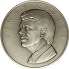 Jimmy Carter 39th President Medallic Art Co Silver Round (6.43 oz ASW)