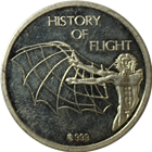 Tante Ju History Of Flight Silver Round (.27 oz ASW)