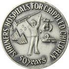 1972 Shriners 100th Anniversary 1 oz Silver Round (.67 oz ASW)